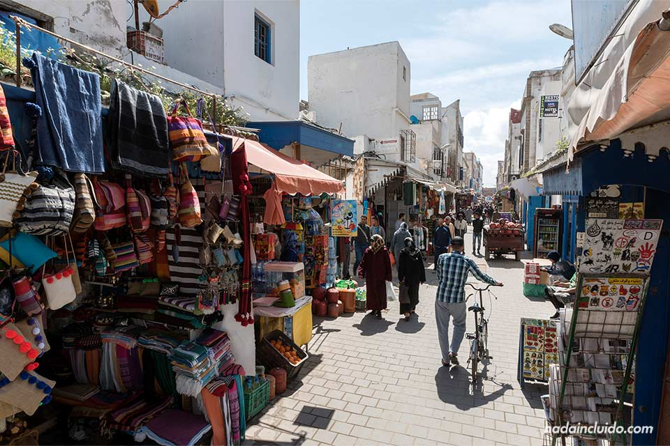 Calle de Algerie en la medina de Essaouira (Marruecos)