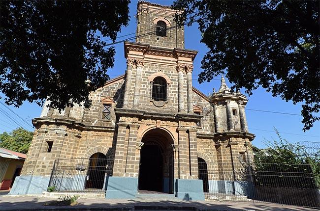 Iglesia de Nuestra Señora del Pilar de Zaragoza en León (Nicaragua)