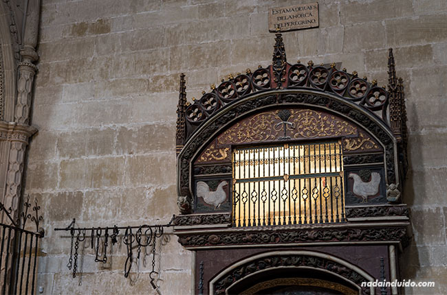 Gallinero de la catedral de Santo Domingo de la Calzada (Rioja, España)