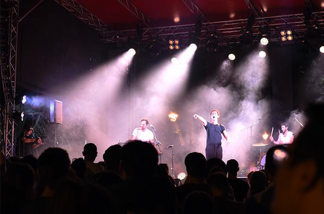 Aaron en el Festival de Jazz de Cluj-Napoca (Rumanía)