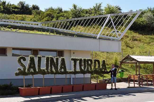 Entrada a Salina Turda (Rumanía)