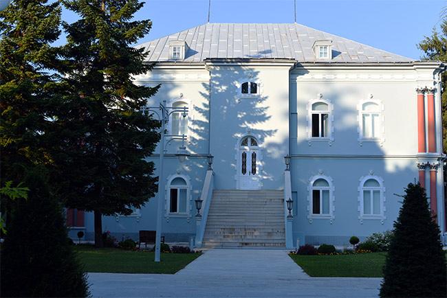 El Palacio del Presidente de Montenegro en Cetinje, Blue Palace