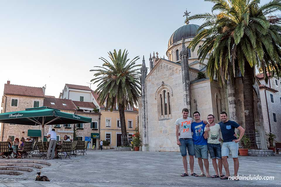 En el Stari Grad de Herceg Novi (Montenegro)