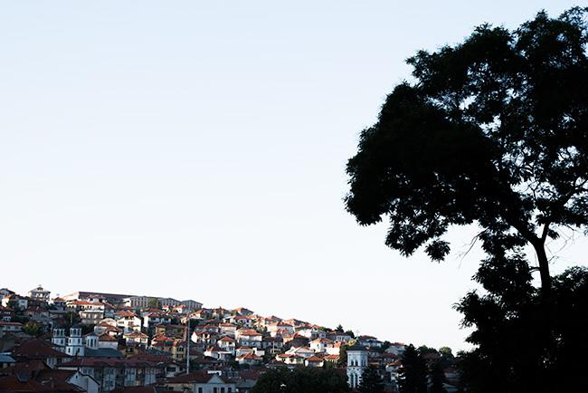 Vistas desde lo alto de Krusevo (Macedonia)