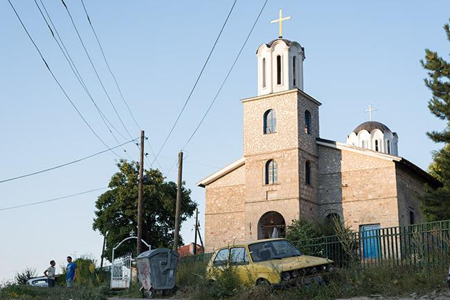 Iglesia de la Sagrada Trinidad en Krusevo (Macedonia)