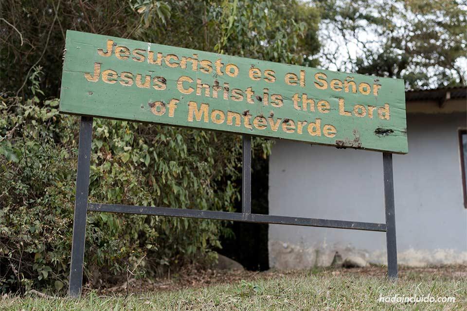 Jesucristo es el Señor de Monteverde (Costa Rica)