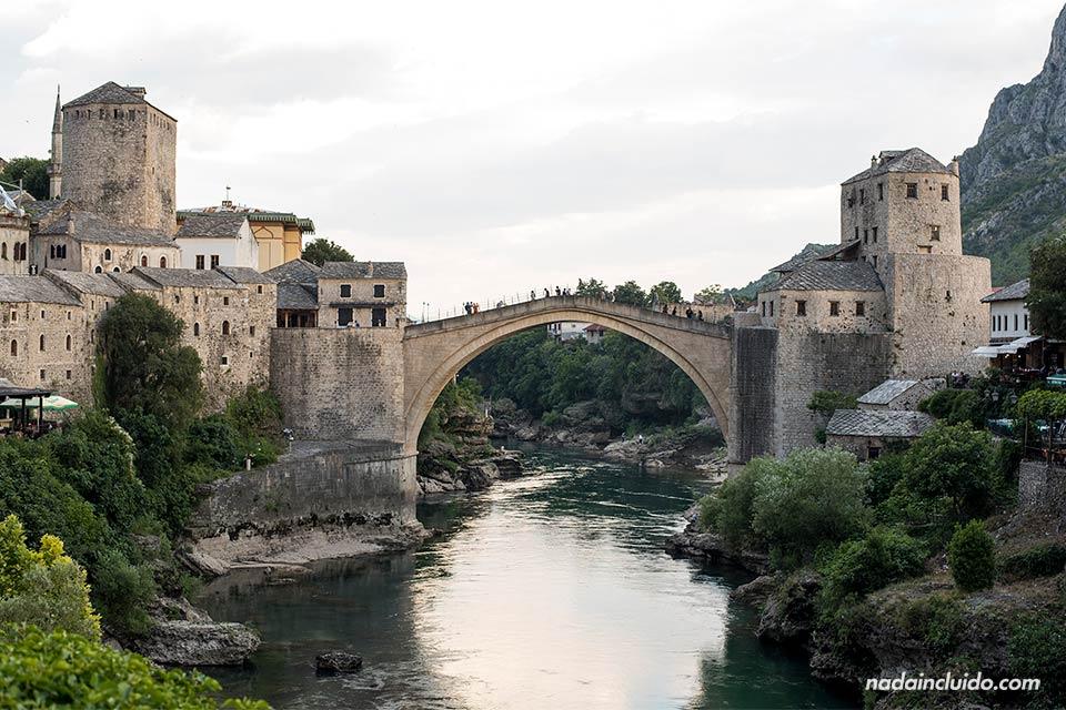 Stari Most de Mostar, el Old Bridge de esta ciudad de Bosnia