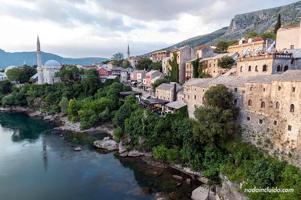 Old Town o casco viejo de Mostar (Bosnia)
