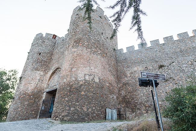 Fortaleza de Samuel en Ohrid (Macedonia)