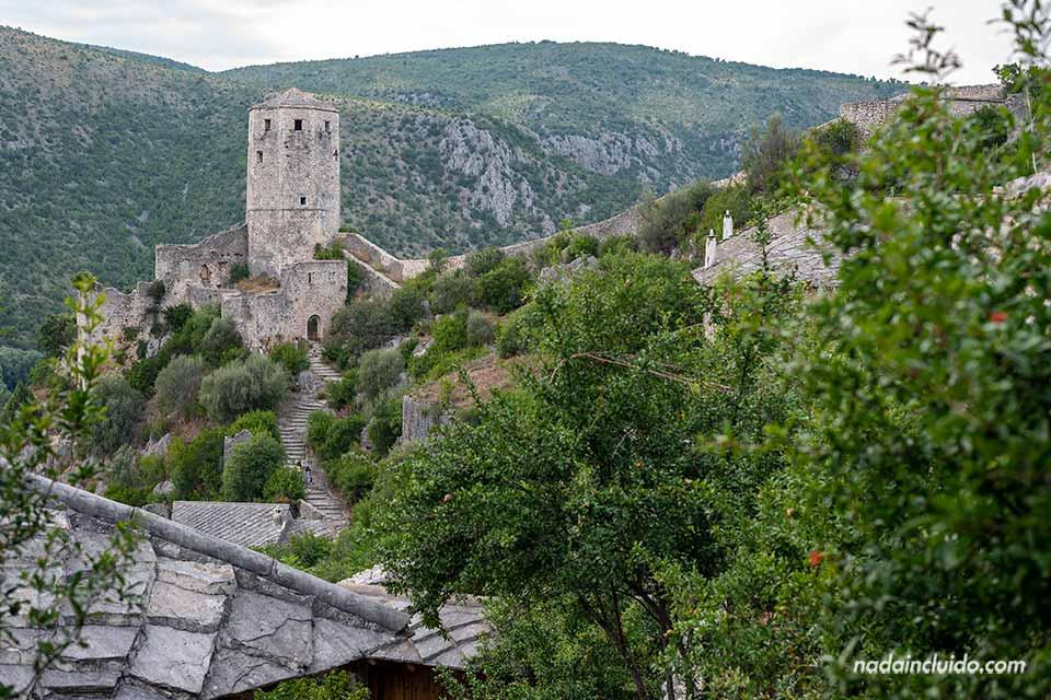 Torre de la Fortaleza de Pocitelj (Bosnia)
