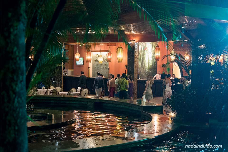 Recepción de las Termas Baldi Hot Spring (La Fortuna, Costa Rica)