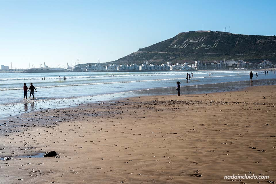 Playa de Agadir (Marruecos)