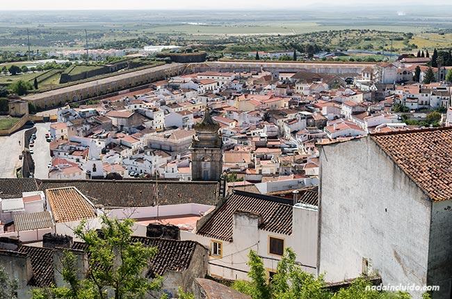 Ciudad amurallada de Elvas (Alentejo, Portugal)