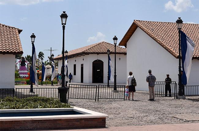 Paseo Xolotlán en Managua (Nicaragua)