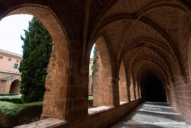Claustro del Monasterio de Piedra (Aragón, España)