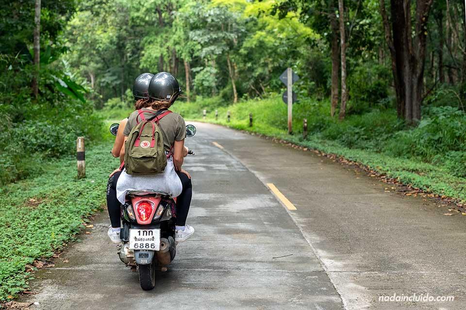 Ruta en moto por la provincia de Mae Hong Son (Tailandia)