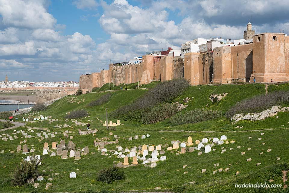 Kasbah de los Udayas en Rabat (Marruecos)