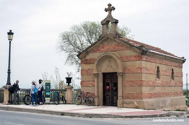 Ermita del puente en Santo Domingo de la Calzada (Rioja, España)