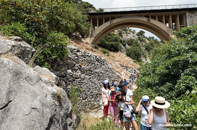 Recorriendo el valle de Jorox (Málaga)