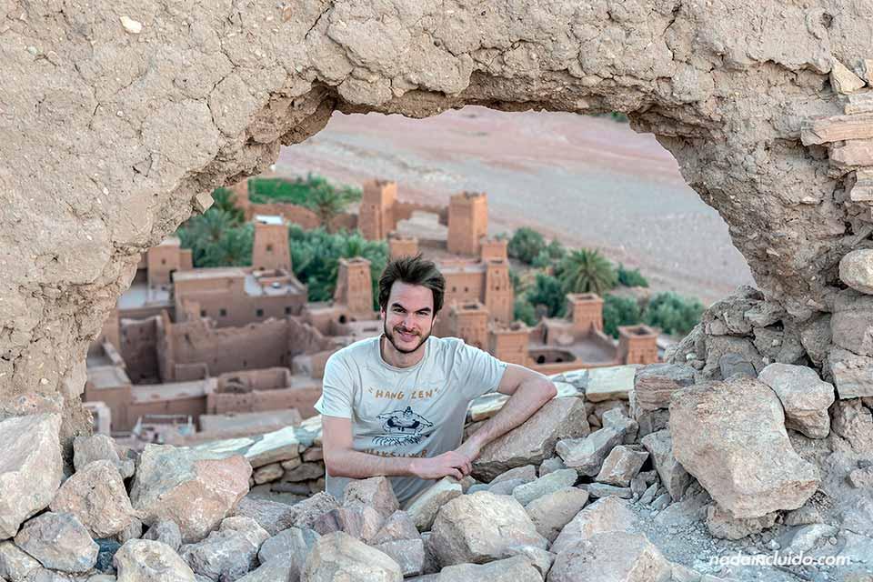 En el Ksar de Ait Ben Haddou (Marruecos)