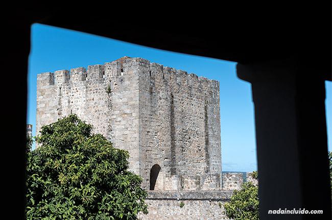 Torre del castillo de Elvas (Alentejo, Portugal)
