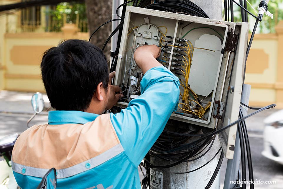Electricista en Hanoi (Vietnam)