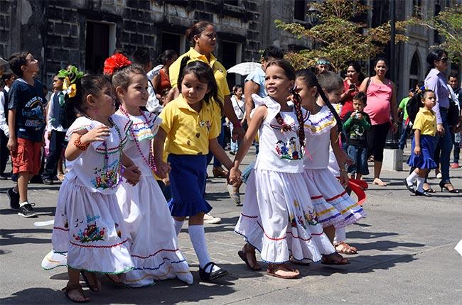 Niños en León