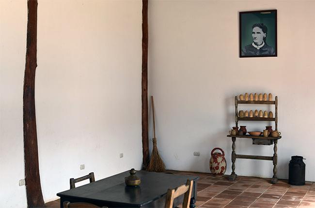 Interior de la casa de Ruben Darío en Managua (Nicaragua)