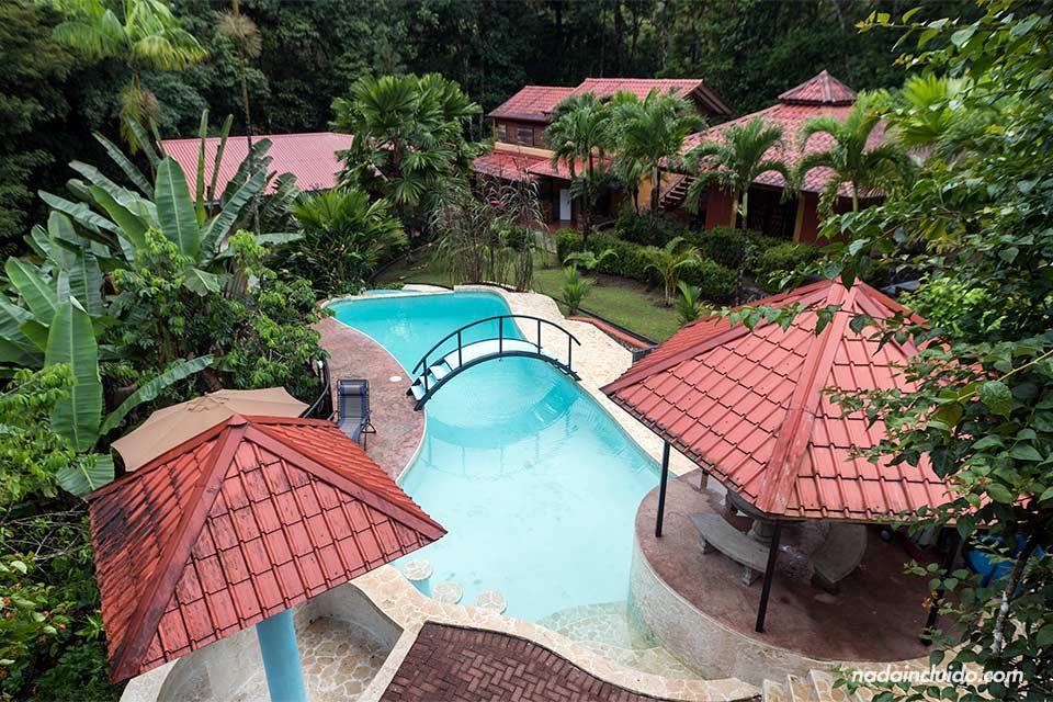 Complejo Villas Santerras, en Ojochal (Costa Rica)