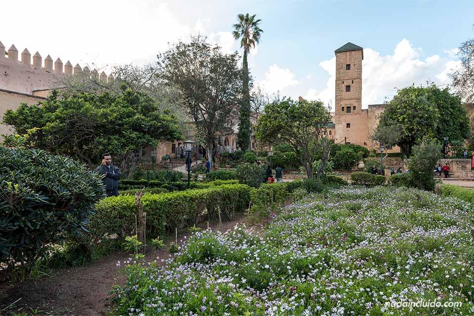 Jardines andaluces en Rabat (Marruecos)