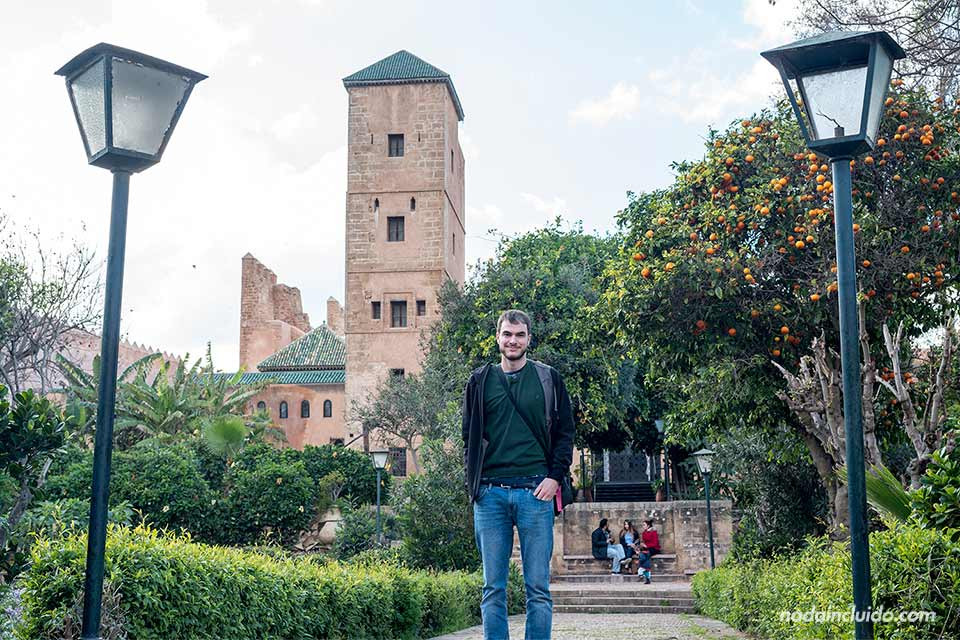 En los jardines andaluces de Rabat (Marruecos)