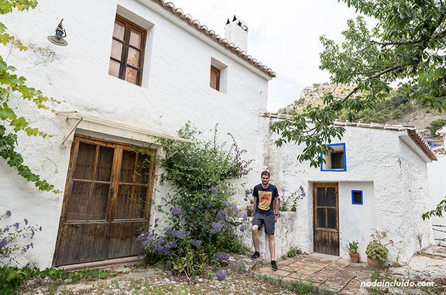En una casa del valle de Jorox (Málaga)