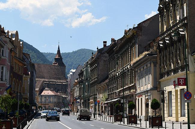 Strada Mureșenilor, Brasov (Rumanía)