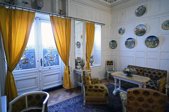 Sala en el Castillo de Peles (Rumanía)