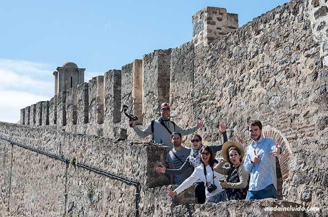 En el castillo de Elvas (Alentejo, Portugal)