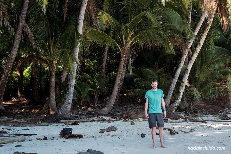 En la Isla Bolaños, Parque nacional marino golfo de Chiriqui (Panamá)