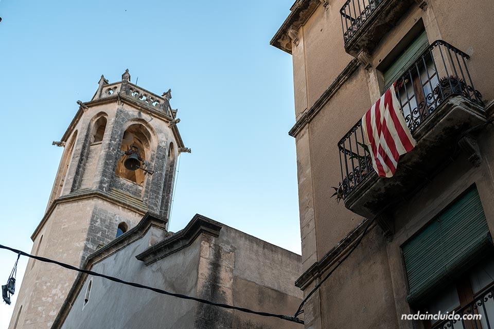 Torre del convento de la Santísima Trinidad en Vilafranca del Penedés