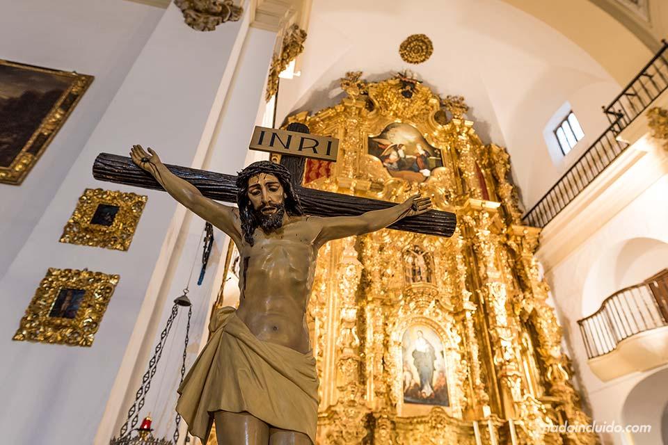 Cristo en la iglesia parroquial de Laujar de Andarax (Almería)