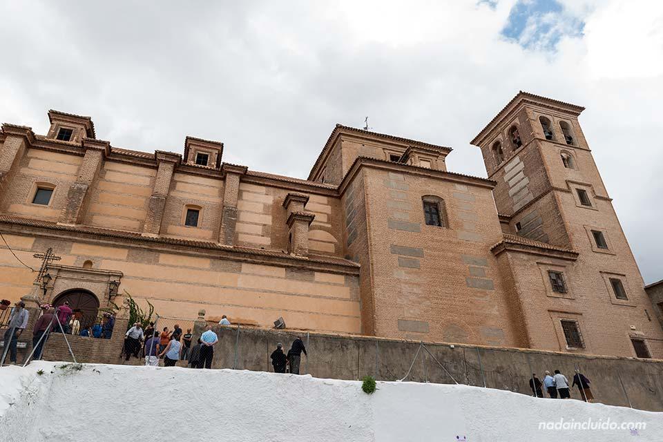 Fachada de la iglesia parroquial de Laujar de Andarax (Almería)