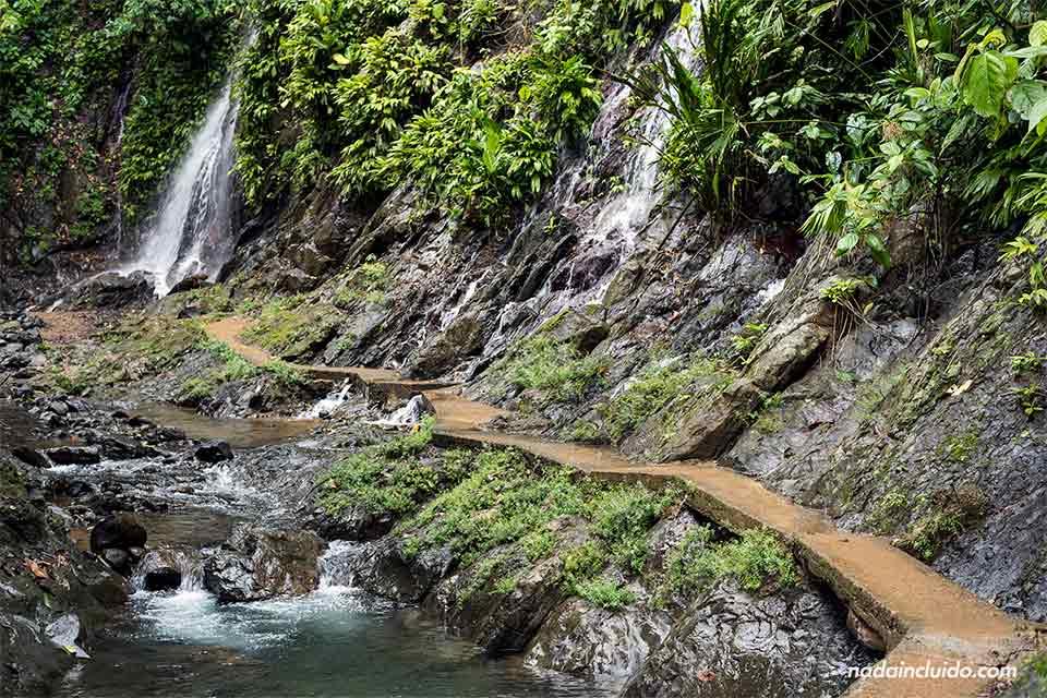 Chorros en Los Campesinos Ecolodge (Costa Rica)