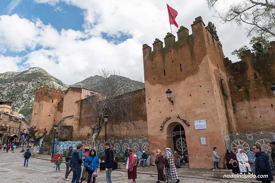 Kasbah en Chefchaouen (Marruecos)