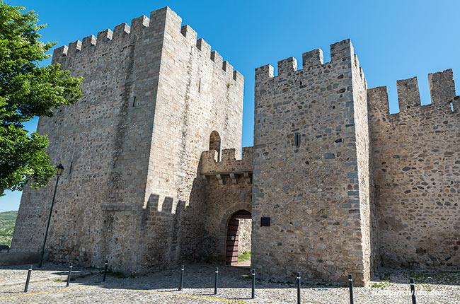 Muralla del castillo de Elvas (Alentejo, Portugal)