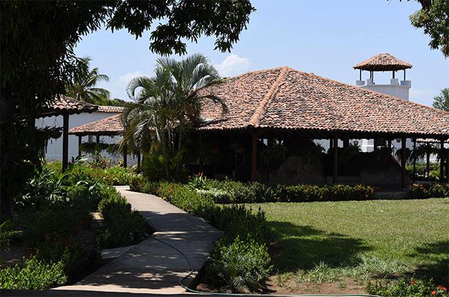 Interior de la Fortaleza de la Pólvora en Granada (Nicaragua)