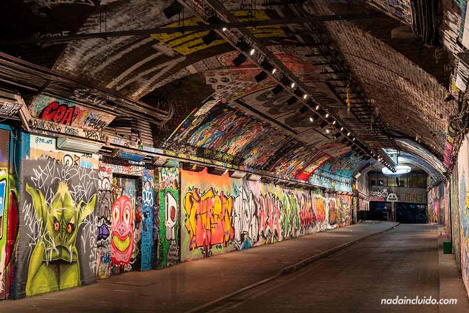 The Vaults, un espacio de arte urbano en la estación de Waterloo (Londres, Inglaterra)