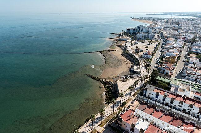 Vistas Chipiona desde el faro (Cádiz)
