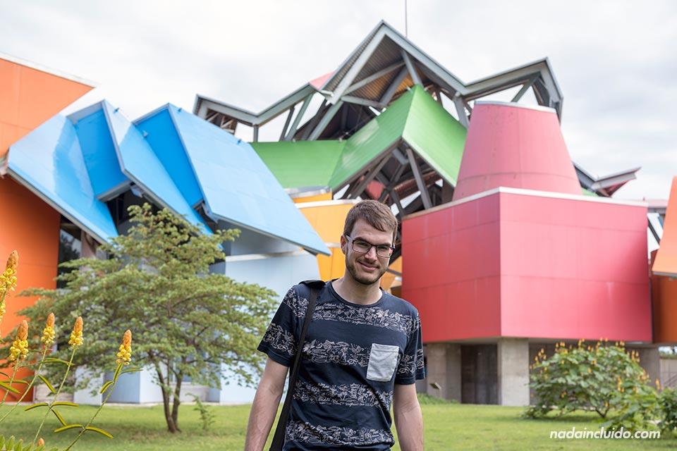En el biomuseo de ciudad de Panamá