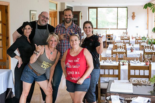 Blogueros de viaje con el equipo del Hotel Restaurante Mirador de Oto (Sobrarbe, Aragón)