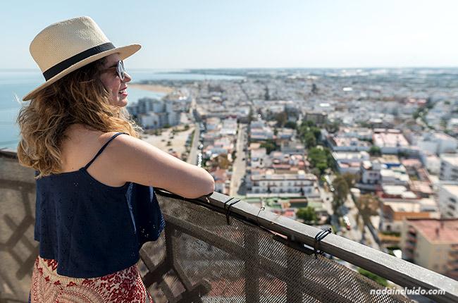 Los viajes de Claudia en el faro de Chipiona (Cádiz)