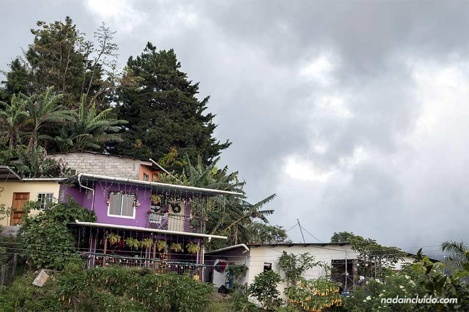 Casa morada en los alrededores de Bajo Boquete (Panamá)