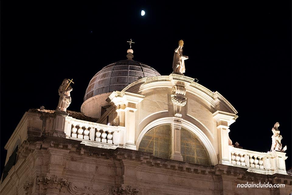 Iglesia de San Blas en el Old Town de Dubrovnik (Croacia)